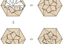 Folded fabricks