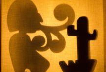 JUGAMOS CON SOMBRAS! / Jugando con nuestros #titeres de sombras para contar leyendas. #teatrodesombras #juegos