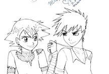 ash & gary palletshipping pokemon