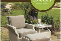 Discover A World of Outdoor Luxury / The Discover Luxury Sales Event is happening now. Explore  Lloyd Flanders premium outdoor wicker and enjoy 20% off, for a limited time. / by Lloyd Flanders