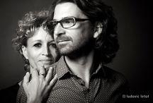 Carole & David / Portraits