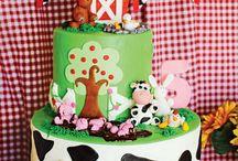 barn animal party