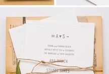 wedding stationery and stuff