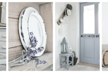 For the love of white / Decorating with white paint, furniture and soft furnishings... / by Betty and Violet
