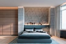 Striking Bedrooms That Use Concrete Finish Artfully