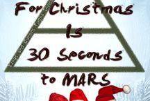 Santa Claus through the back door / #MARSchristmas #HappyNewMARSYear