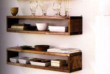 Timber Box Shelf