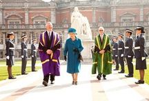 The Queen visits Royal Holloway / In March 2014 the Queen visited Royal Holloway