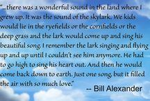 Billisms / Quotes from Bill Alexander