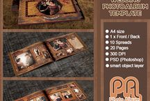 Photo Album Template / Photo Album Template For Sale