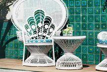 Peacock Chairs / Quiero la silla de Emmanuelle!