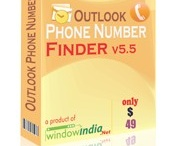 Outlook Phone Number Finder  / If you are looking for the most effective phone number finder, Outlook Phone Number Finder is the perfect choice. The wide gamut of features would help you do the task of phone number extraction in a very fast, accurate and reliable manner. The tool can process any Microsoft Outlook files. It can even extract the phone number from different folders. It can remove any repetitive phone number and provided only the required and relevant list of phone number.