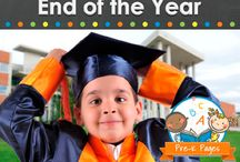 End of the year- preschool