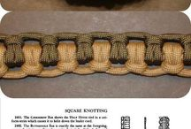 Bracelets De Survie En Paracorde / Parracorde