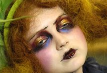 Doll Face: Lily Cole and Friends / Lily Cole and other models in fantasy makeup / by Margaret Duncan Lynch