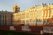 Pietariin / St. Petersburg and places nearby.