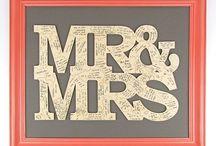 Livre d'or original / Des idées originales pour votre livre d'or de mariage : cadre, tissu, coeurs en bois...