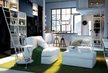 Interior Design pictures / Houses and places, interiors and furniture that I like