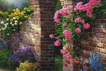 дизайн Сады