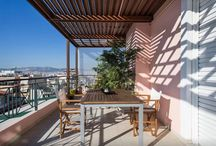 Acropolis 360 Penthouse / Location: Petras 20, Athens . Furnished apartments for short or longer stay in Athens. Book online at www.athensbnb.net