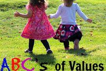 Teaching Kids Behavior and Values / by Rachel Carter