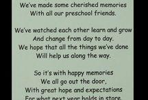 School leavers poems