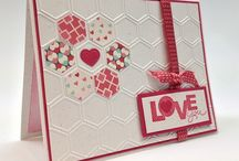 Cards ~ Hexagons / by Danelle Yeager-Fowler