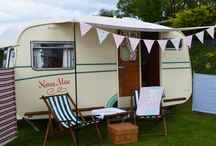 Our Vintage Caravan / Our Vintage Caravan, available to hire for photo shoots and filming. Also available to rent for Tea Parties, Weddings and Birthday Parties