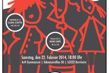 V-Day Events in Germany / Verschiedene Benefiz Veranstaltungen im Rahmen von V-Day Deutschland