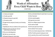 Affirmation words