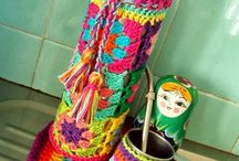 funda de mate crochet
