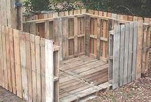 pallet deck seating idea