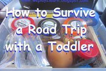 Toddler travel / by Maggie Schnur