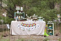 Bug and Insect Birthday Party   Ideas, Decorations and Inspiration / Bugs and Insects birthday party ideas, including party decorations, bugs and insects themed sweets and treats, printables and party activities.