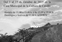 Exposición Arte fotográfico / Exposición celebrada en la ciudad de Candás en Asturias 1 al 15 de octubre de 2013.