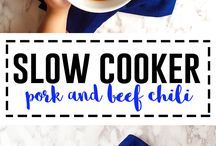 """SLOW COOKER RECIPES / Sloowww recipes for crock pots!  Posts from my blog """"I See Hungry People"""" as well as yummy pins from other bloggers."""