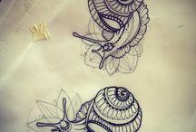 Lumaca tattoo