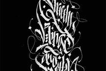 calligrapy