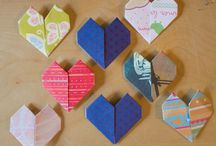 Paper/Book Crafts / paper, origami and recyled book ideas