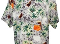 Men's Silk Hawaiian Shirts