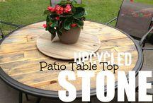 Broken Patio Table