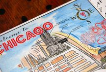 Chicago is my Kinda Town / Landmark Chicago loves, maps and more!