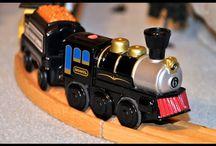 Toy train adventure inspiration