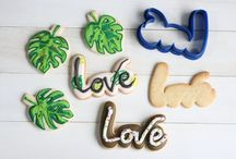 Letters cookie cutters