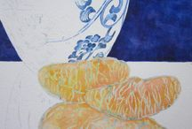 Works in Progress by Barbara Rosenzweig - Watercolor Paintings / Follow works in progress with insights into my painting process. To discover my work and learn more about me please visit http://BarbaraRosenzweig.etsy.com and http://WatercolorsbyBarbara.fineartamerica.com/  / by Barbara Rosenzweig Art