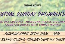 Emmor Events / We love hosting our special showrooms because we love when you visit! Stop by the Emmor Works workshop for these very special events.