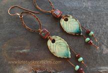 Kristy's Kreations - Handmade Jewelry / Necklaces - Bracelets - Earrings