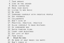 advice / by Judi Bade