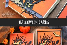 Halloween Projects With Spellbinders