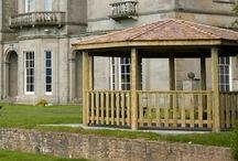 Wooden Structures for Hotel and Leisure / Some of our lovely timber structures which are suitable for the hotel and leisure industry.